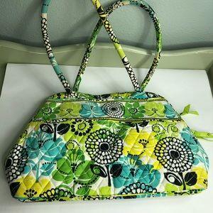 Vera Bradley handbag beautiful floral print green